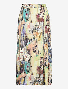 Gaia Skirt - midinederdele - multi