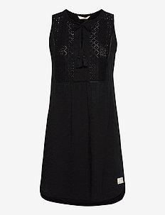 Artful Dress - sommerkjoler - almost black