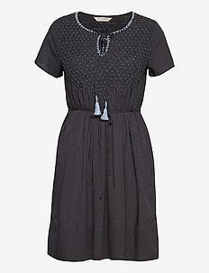 Darya Dress - sommerkjoler - asphalt