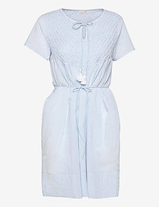 Darya Dress - sommerkjoler - blue dew