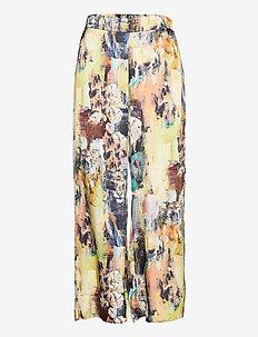 Gaia Pants - bukser med brede ben - multi