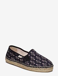 vibrant walker espadrillo - ALMOST BLACK
