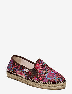 vibrant walker espadrillo - plat - dark brown