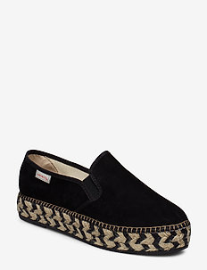stepper espadrillo - BLACK