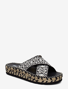 walkability slipper - BLACK