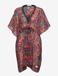 mystic beach dress - AZALEA PINK
