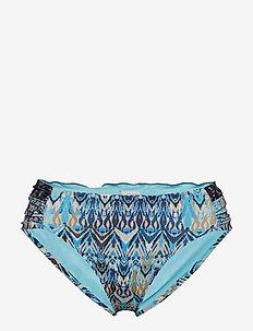 mystic bikini bottom - MINERAL BLUE
