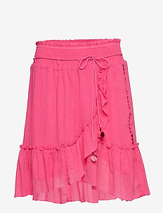 superflow skirt - HOT PINK