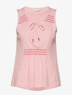 groove romance top - FLAMINGO