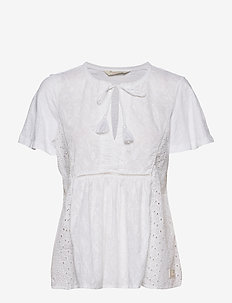 Artful Blouse - BRIGHT WHITE