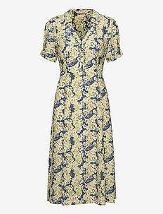 Sorrento Dress - skjortekjoler - night sky blue