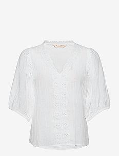 Portofino Blouse - blouses à manches longues - bright white