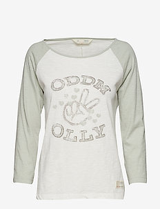 breather l/s top - FROSTY GREEN