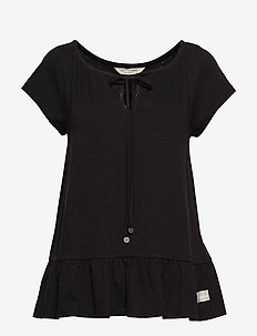 deep passion top - ALMOST BLACK