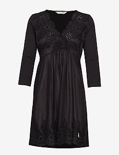 backyard dress - ALMOST BLACK