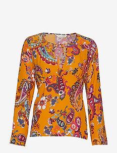 knock-off blouse - GOLDEN HONEY