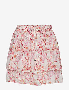 blossom skirt - LIGHT CHALK MULTI