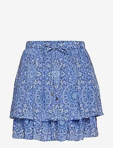 blossom skirt - SEA BLUE