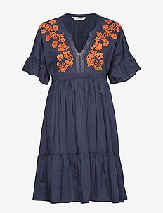 wooo-hooo dress - DARK BLUE