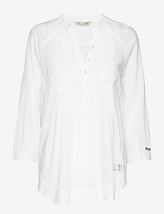 embrace me blouse - BRIGHT WHITE