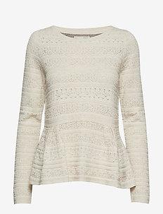 more of me sweater - LIGHT PORCELAIN
