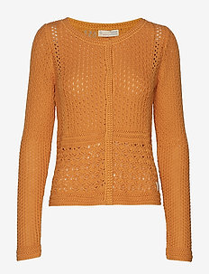 mollyverse cardigan - SUNSET YELLOW