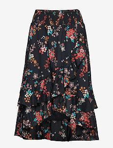 marvelously free skirt - ALMOST BLACK