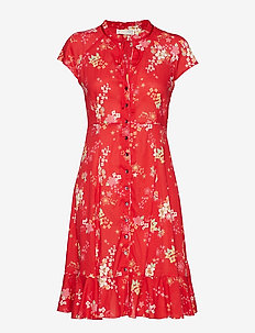 marvelously free dress - RED TULIP