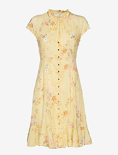 marvelously free dress - VINTAGE YELLOW