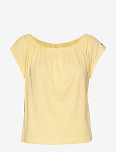 doooer top - VINTAGE YELLOW