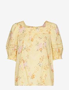 marvelously free blouse - VINTAGE YELLOW