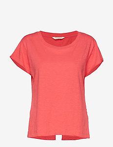 doooer t-shirt - RED TULIP