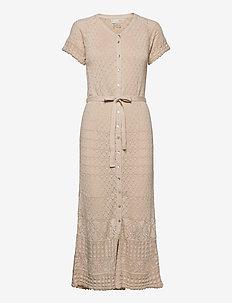 Lucky Charm Dress - maxi dresses - light porcelain