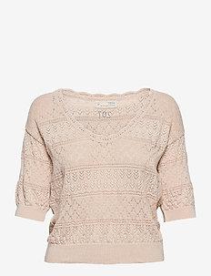 Lucky Charm Sweater - hauts tricotés - light porcelain