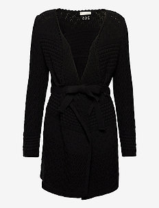 Stay Magic Cardigan - gilets - almost black