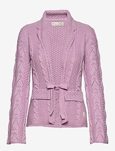 Stay Grounded Blazer - gilets - pink whisper