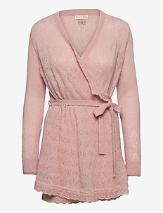 Your Instinct Wrap Cardigan - gilets - blush pink