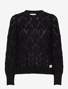 Curious Sweater - pulls - black