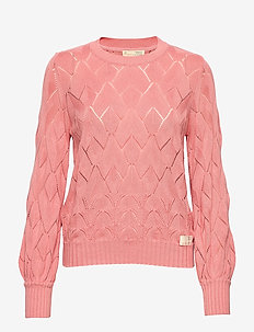 Curious Sweater - pulls - blush pink