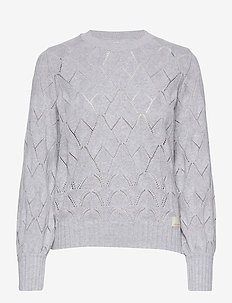 Curious Sweater - pulls - light grey melange