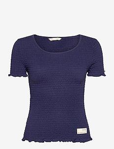 Alluring Smock T-shirt - t-shirts - slice of blue