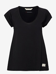 Power Sleeve Tee - t-shirts - almost black