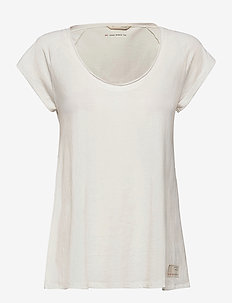 Power Sleeve Tee - t-shirts - light chalk