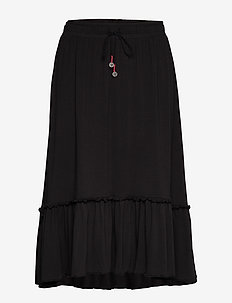 My Beloved Skirt - midinederdele - almost black