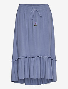 My Beloved Skirt - jupes midi - oyster blue