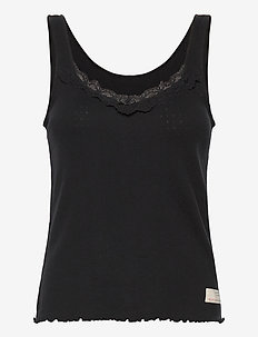 Not Giving In Tank Top - hauts sans manches - almost black