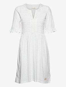 Expressive Move Dress - robes courtes - bright white