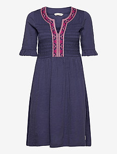 Expressive Move Dress - robes courtes - stormy blue