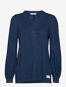Power Sleeve Top - blouses à manches longues - blue atmosphere