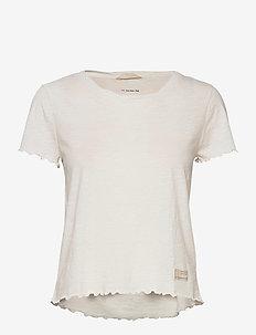 Pow-Wow Top - t-shirts - light chalk